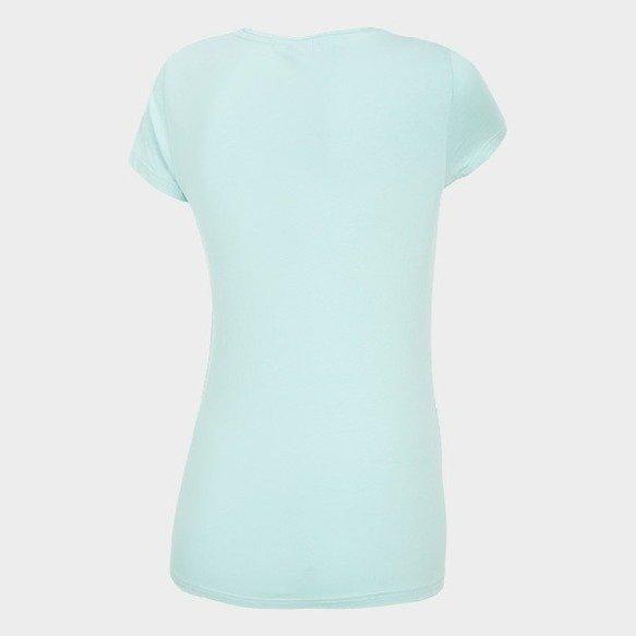 T-shirt damski 4F miętowy