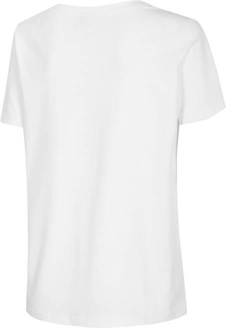 T-shirt damski 4F oversize TSD023 biały