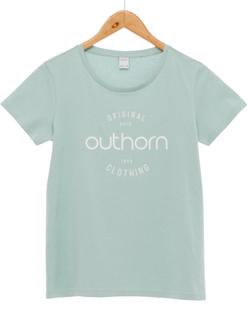 T-shirt damski OUTHORN TSD606A bawełniany