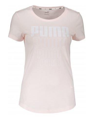 T-shirt damski PUMA 581307 RÓŻOWY