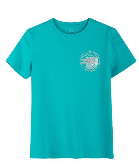 T-shirt dziecięcy 4F JTSM008B bawełniany