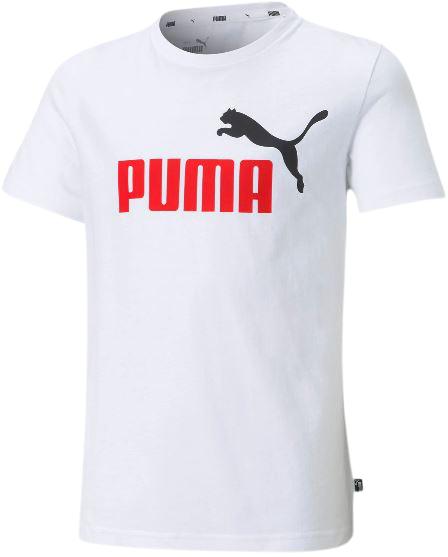 T-shirt dziecięcy PUMA 586985 02 bawełna biała