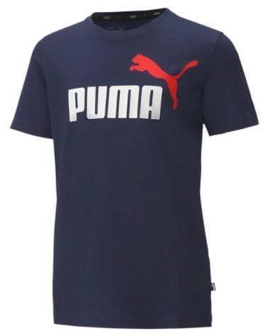 T-shirt dziecięcy Puma 583230 06 granatowy