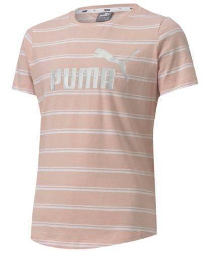T-shirt dziewczęcy PUMA 583912 15 w paski