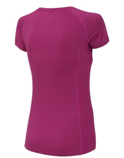 T-shirt fitness damski 4F TSDF002 różowy XS
