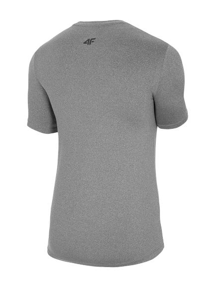 T-shirt funkcyjny męski TSMF061 SZARY MELANŻ