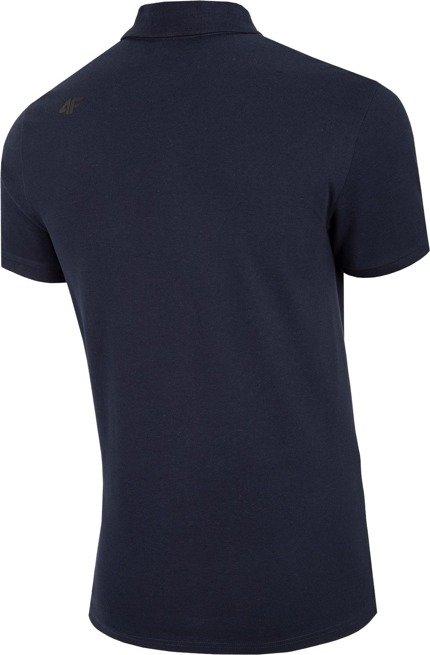 T-shirt koszulka męska 4F polo TSM008 granat
