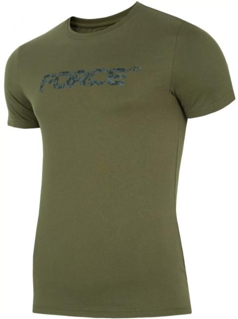 T-shirt męski 4F TSM006  zielona bawełna S