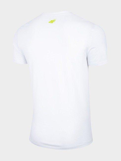 T-shirt męski 4F TSM013 BIAŁY