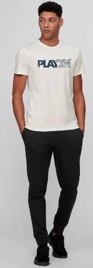 T-shirt męski 4F TSM013 złamana biel bawełna