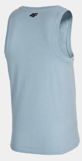 T-shirt męski 4F TSM033 bokserka niebieska