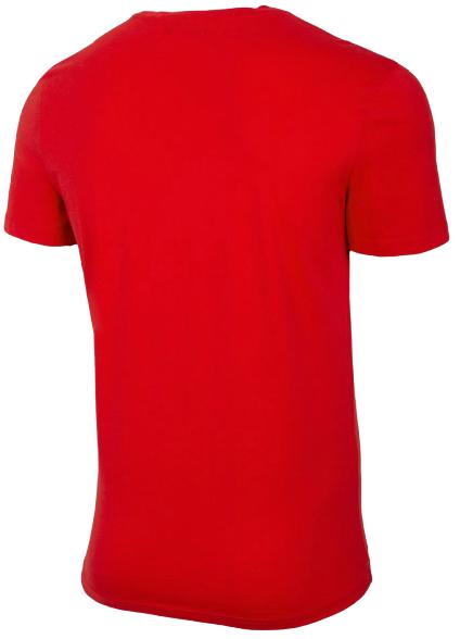 T-shirt męski OUTHORN TSM622 koszulka czerwona
