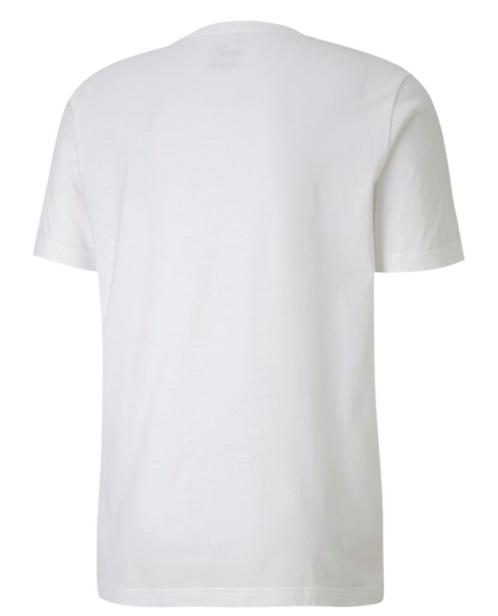 T-shirt męski PUMA Flock Graphic 581910 biała