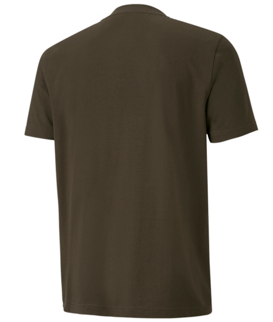 T-shirt męski PUMA Rebel CAMO 582027 zielony