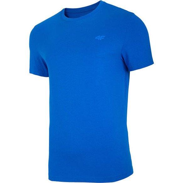 T-shirt męski bawełniany 4F TSM003 niebieski