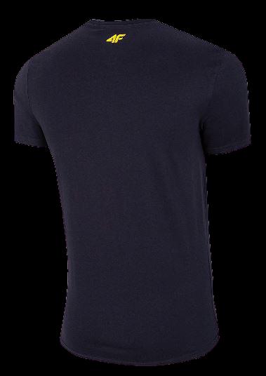 T-shirt męski bawełniany 4F TSM022 granat