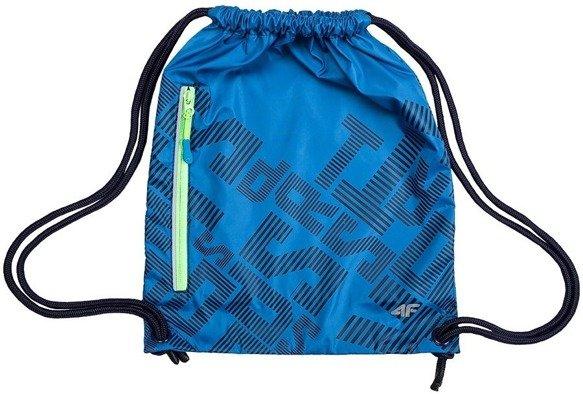 Torba uniw plecak worek 4F niebieska JBAGM100