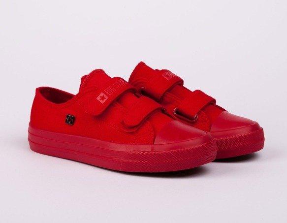 Trampki dziecięce czerwone FF374097