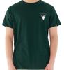 T-shirt męski OUTHORN TSM642 zielony bawełna
